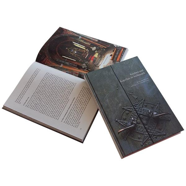Künster-Druck GmbH Andernach Mittelrhein Neuwied Koblenz Publikation Chronik Buchbinderei Hardcover